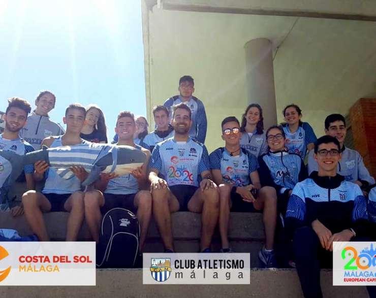 Grandes actuaciones de nuestros atletas en el Andaluz por equipos sub20