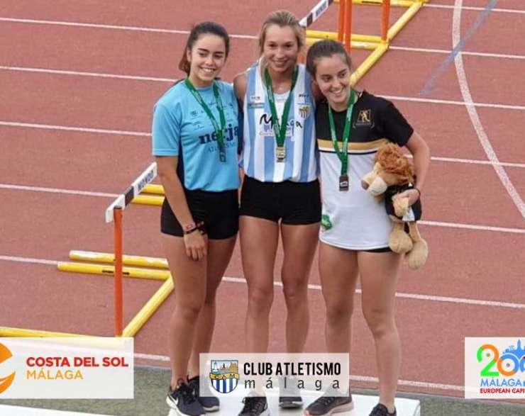 5 medallas para el CAM en el Cto. de Andalucía sub18