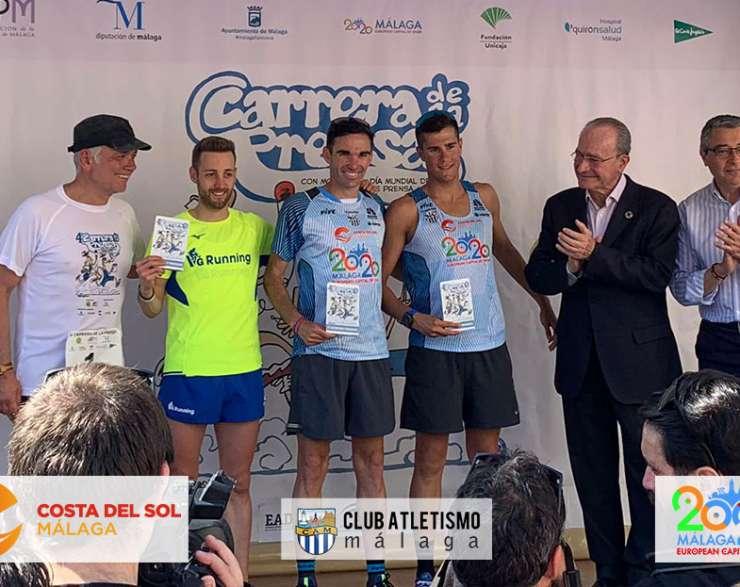 Dani Pérez vence en la Carrera de la Prensa y Alejandro Cañas es 3º