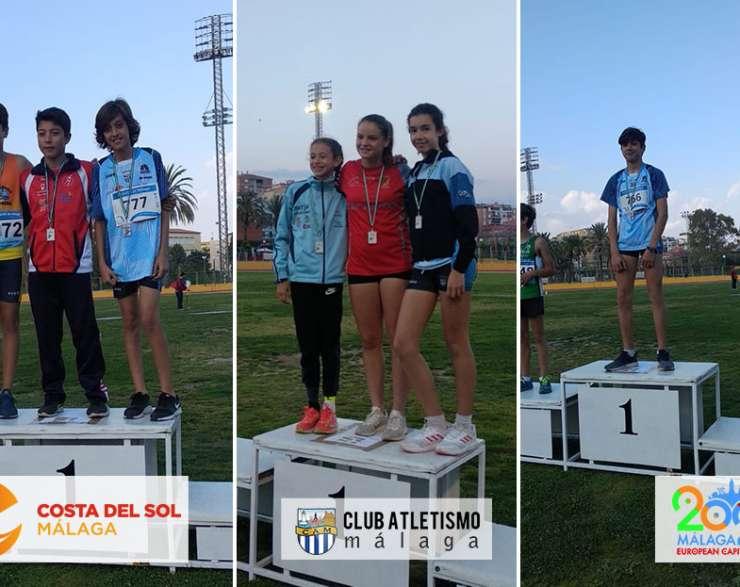 Resultados más destacados de nuestros atletas en el provincial Infantil y Cadete