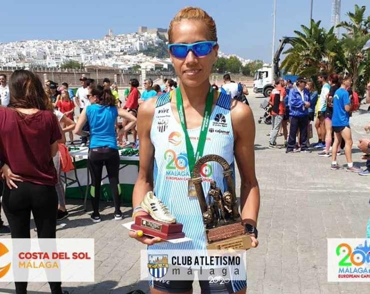Janine Lima segunda en el Cto. de Andalucía de 10.000 km en ruta