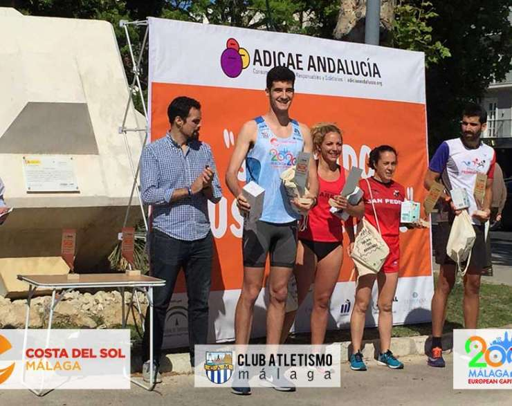 Ángel Torres segundo en la I Carrera Solidaria de ADICAE