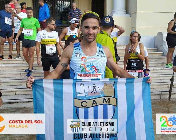 Janine Lima 4ª, Dani Pérez 9º y Rubén Espejo 10º en la Carrera Urbana Ciudad de Málaga