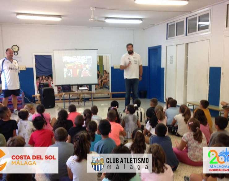 El CAM visita al C.P. San Rafael como parte del Programa Fomento del Atletismo Escolar