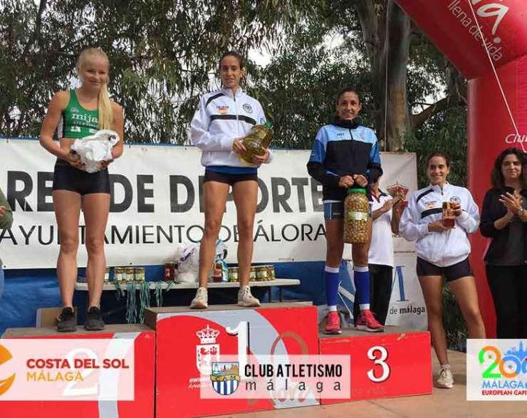 Trini Martín 7ª en el Maratón Almijara Trail de Nerja y 3ª en el Cross de Álora