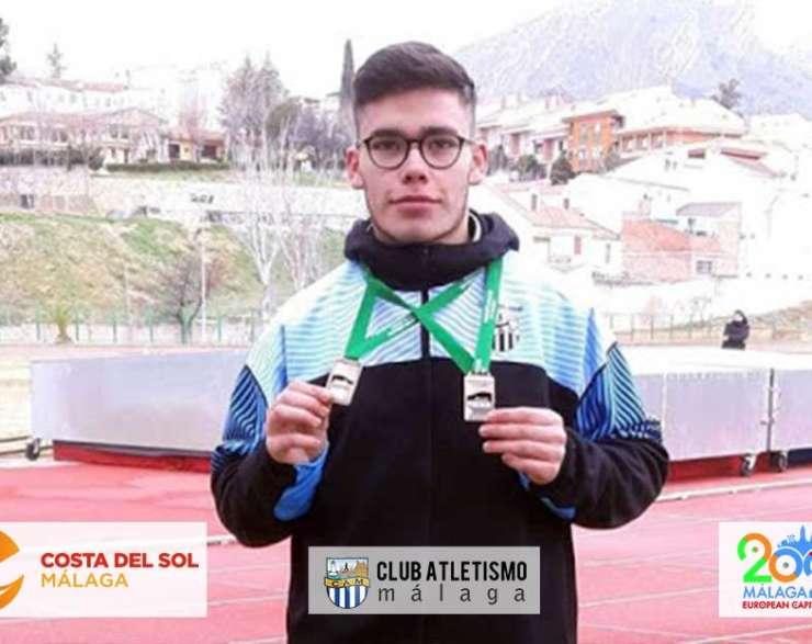 Alberto Vilches 3º en disco y Laura Navas 4ª en peso en el Campeonato Andaluz de Lanzamientos
