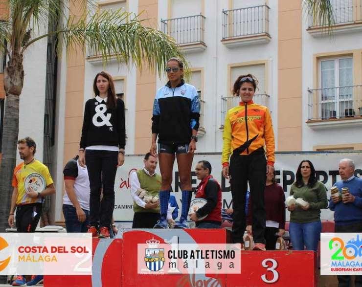 Grandes actuaciones del CAM en la Media Maratón de Álora