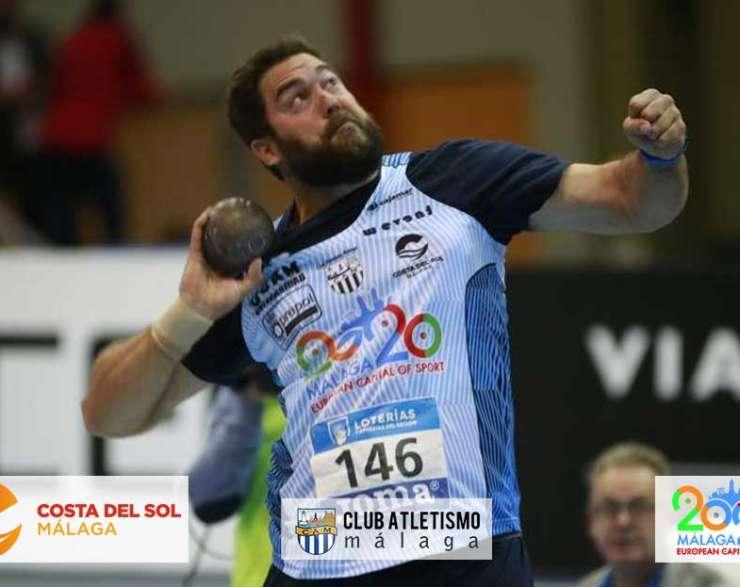 Borja Vivas campeón de España en lanzamiento de peso por novena ocasión