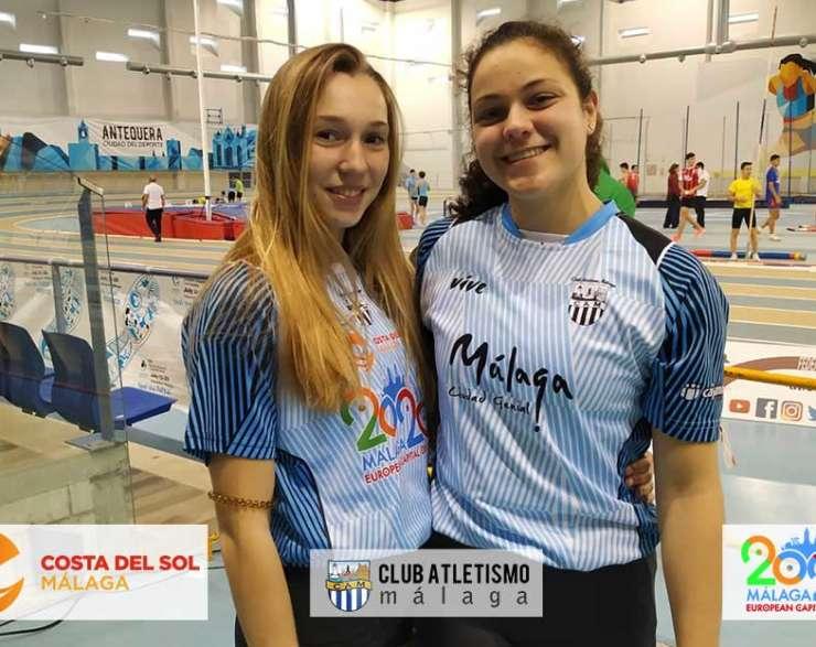 4 medallas para el CAM en el Andaluz sub20 Indoor