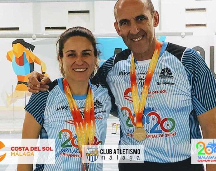 5 medallas para el CAM en el Cto. de España Máster en Pista Cubierta