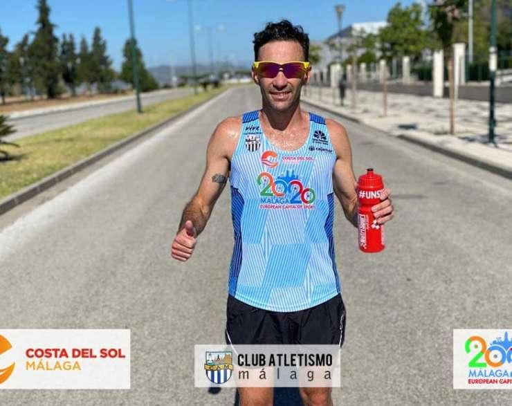 Dani Pérez completa los 10 K de la I Carrera Virtual Ponle Freno en 31.43