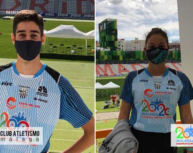 Cristina Díaz y Alfonso Martínez rozan las medallas en el Cto. de España sub20