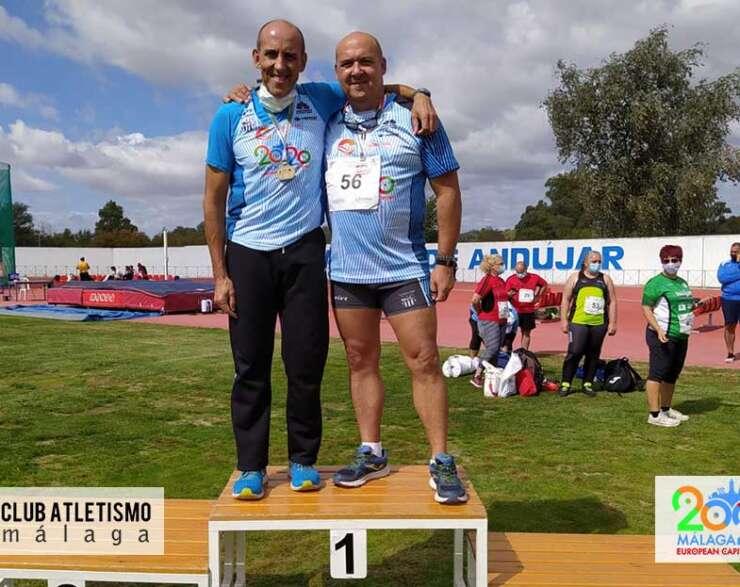 9 medallas para el Club Atletismo Málaga en el Cto. de Andalucía Máster