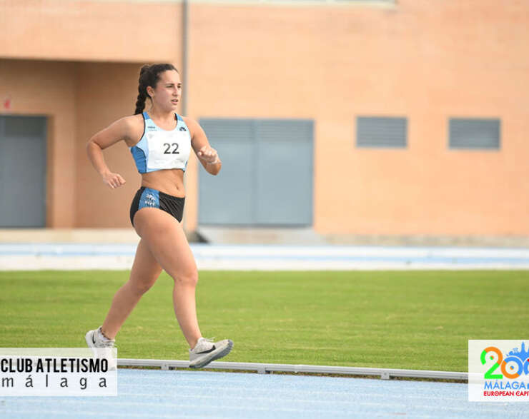 Lucía Torreblanca 4ª en los 5 Km del Cto. de Andalucía de Marcha en Pista