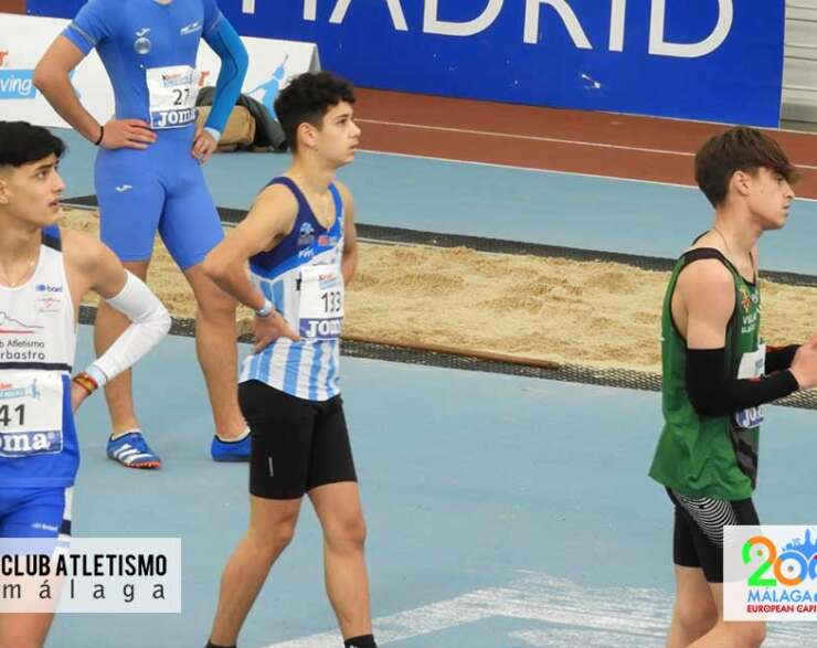 Carlos Terol se queda a las puertas de la final en el Cto. de España indoor sub16