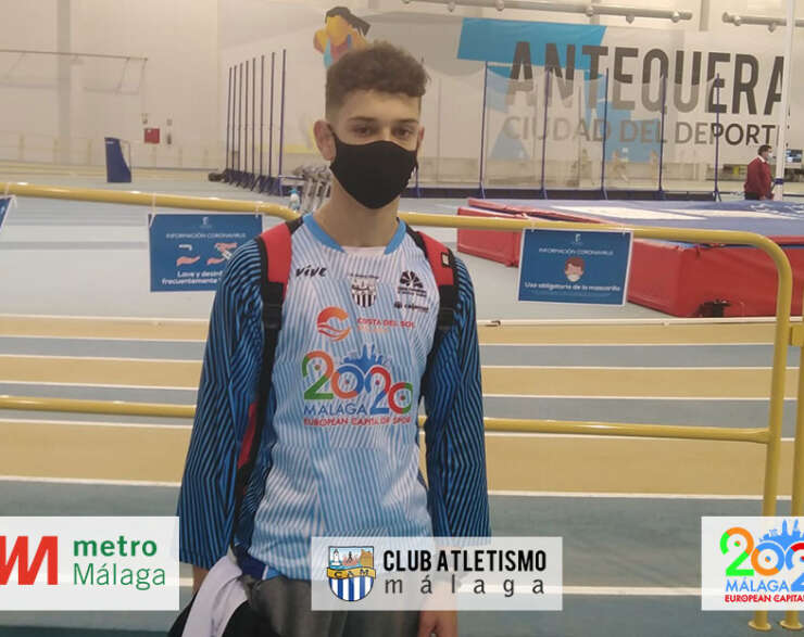Buenos resultados de los atletas del CAM en el Andaluz sub 18