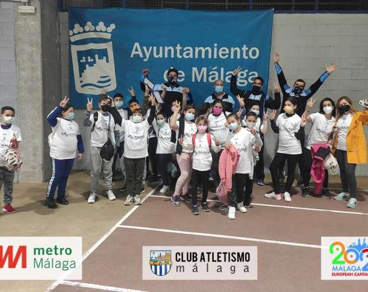 El colegio Pablo Neruda visita al CAM como parte del Programa Municipal de Atletismo Escolar
