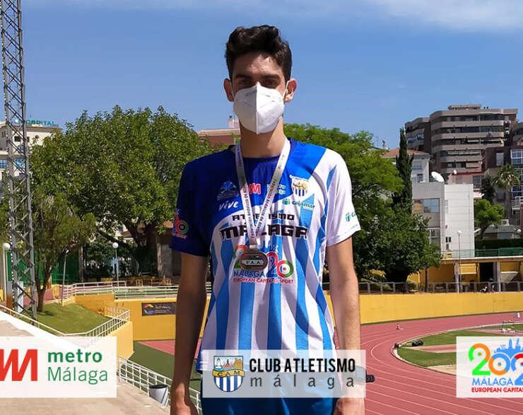 Alejandro Bañasco campeón de Andalucía de marcha en pista