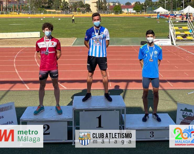 4 medallas para el CAM en el Cto. de Andalucía sub23
