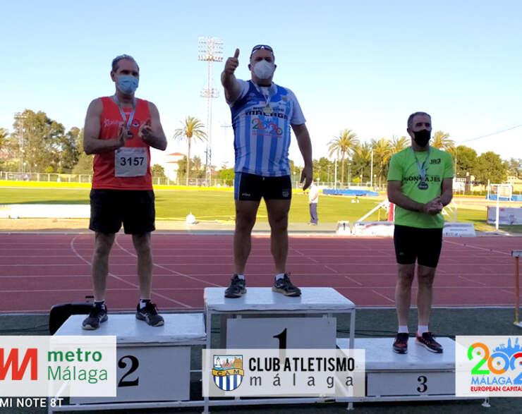 Gran éxito del CAM en el Andaluz Máster con 19 medallas