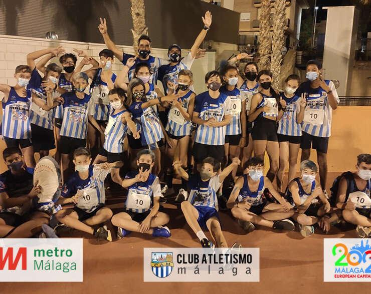 Grandes resultados para el CAM en el Andaluz por Equipos sub14 y Relevos 4×80