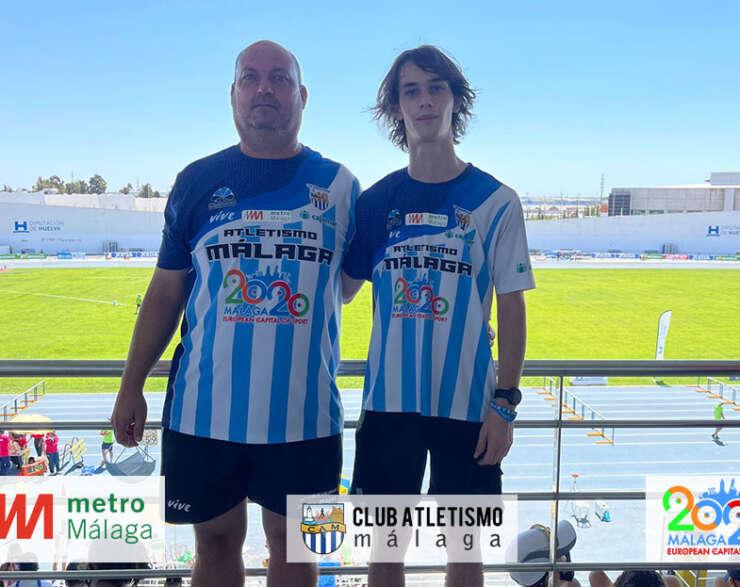 Iván Gálvez 6º en 110 mv en el Cto. de España sub18