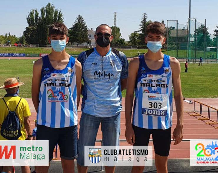 Javier García Trascastro campeón de España sub16 en 300 m.v.