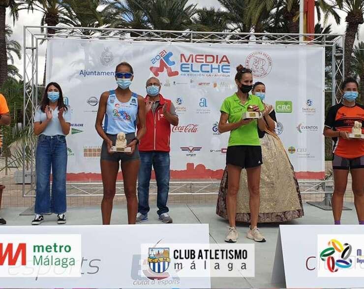 Janine Lima 7ª en la media maratón de Elche y 2ª de su categoría