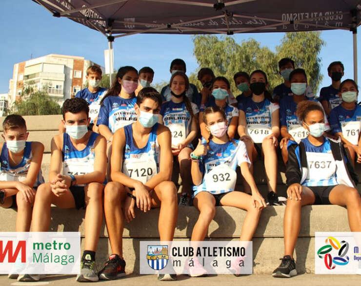 Gran jornada en el Cto. de Andalucía de Triathlón sub14